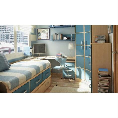 Model dormitor tineret 53