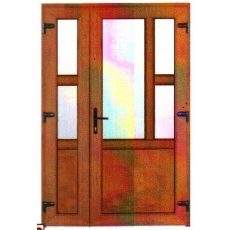 Model ușă cu puiuț PVC 2