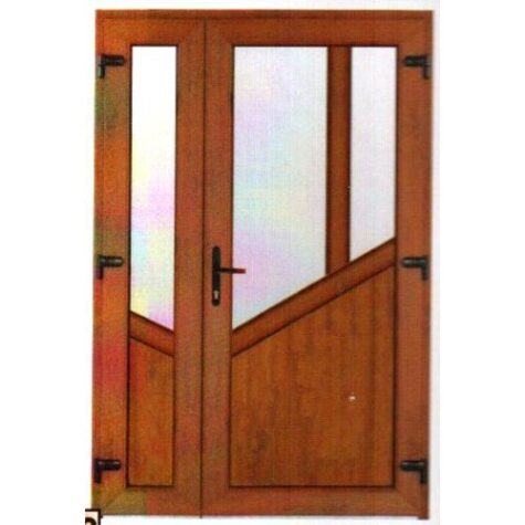 Model ușă cu puiuț PVC 37