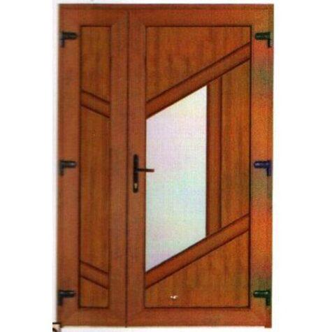 Model ușă cu puiuț PVC 44