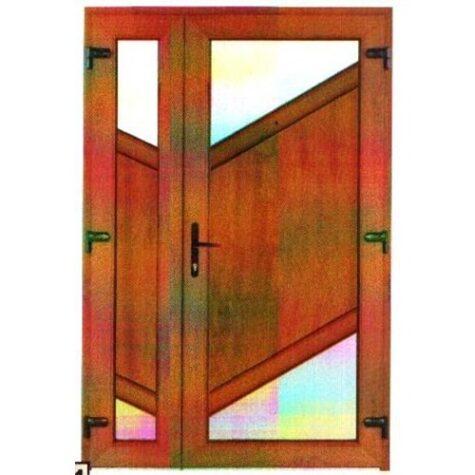 Model ușă cu puiuț PVC 47
