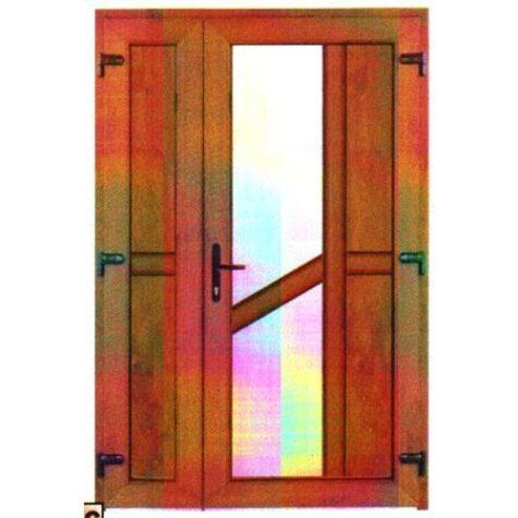 Model ușă cu puiuț PVC 52