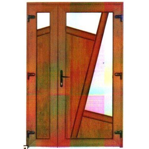 Model ușă cu puiuț PVC 58