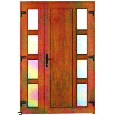Model ușă cu puiuț PVC 6