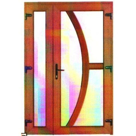 Model ușă cu puiuț PVC 62