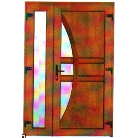 Model ușă cu puiuț PVC 72