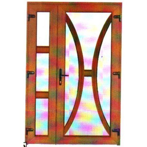 Model ușă cu puiuț PVC 77