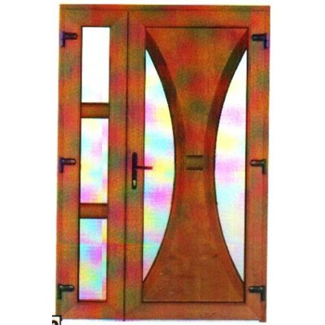 Model ușă cu puiuț PVC 79