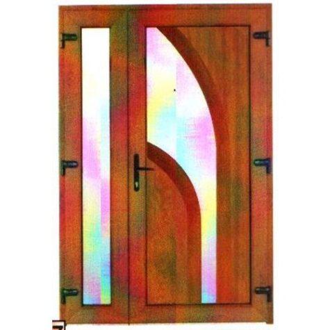 Model ușă cu puiuț PVC 86