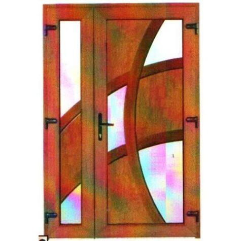 Model ușă cu puiuț PVC 88
