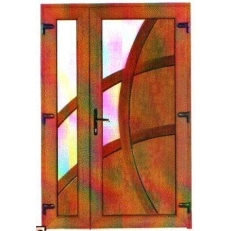Model ușă cu puiuț PVC 90